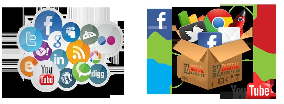 Sociální sítě Facebook a YouTube