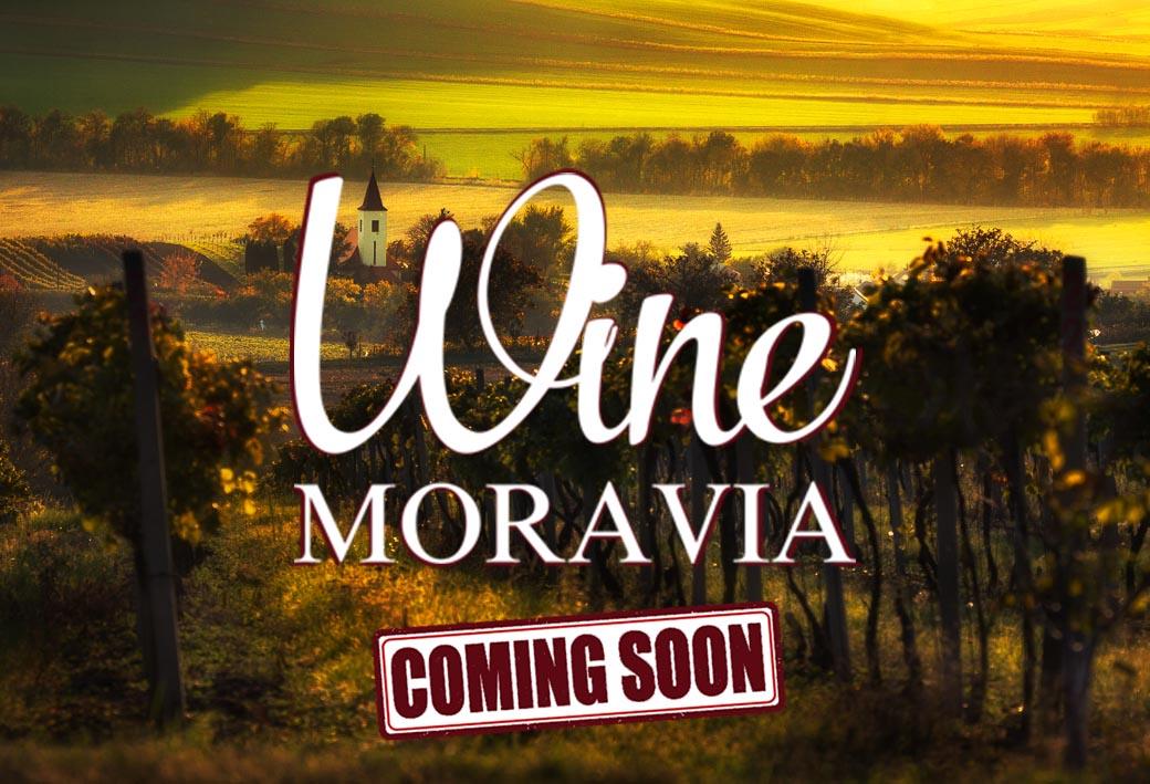 Coming soon WineMoravia.cz